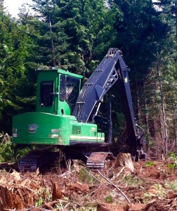 JD 2054 Log Loader